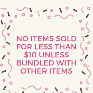 Other - No items sold for less than $10